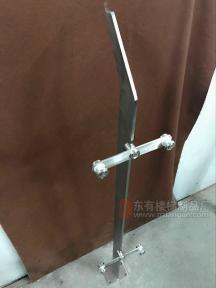 实心不锈钢立柱DY-8134款定制款立柱实拍