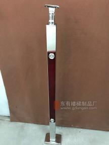 定制款防指纹镜光空心管状夹木立柱