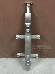 与DY-8207相似的菱形双板不锈钢立柱实拍