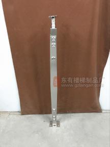 菱形不锈钢双扁立柱(配管管款)