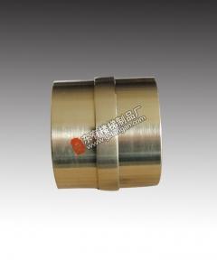 镀钛金不锈钢圆管直通(DLPJ-129)