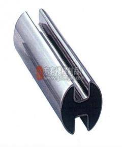 不锈钢圆管双槽(G-0013)