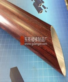 铝合金木纹扶手管(G-L-002)