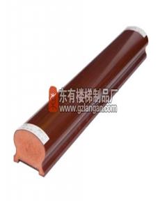 马蹄形带槽木扶手(M-001)