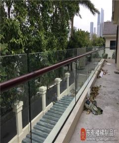 二沙岛落地玻璃栏杆扶手