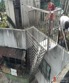 海珠区梁先生钢梯安装