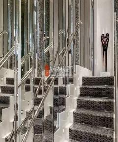 商业楼梯,设计质感彰显大气时尚美